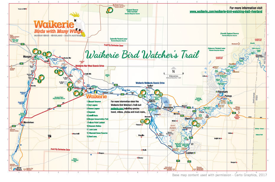 Waikerie's Bird Watcher's Trail